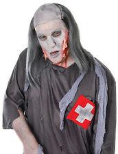 Gris Zombie Tombe Voleur Halloween Horreur perruque accessoire robe fantaisie