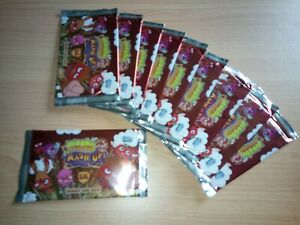 Moshi Monsters Mash Up Topps Trading Card Lot Of 10X Sealed Booster Packs