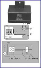 Relais, Glühanlage für Glühanlage HITACHI 132052