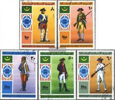 Mauretanien 528-532 (kompl.Ausgabe) gestempelt 1976 Unabhängigkeit der USA