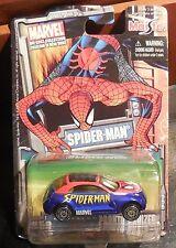 MARVEL DIECAST Spiderman #59 MOSC NEW Pronto Cruizer MAISTO series 3