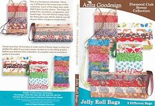 Anita Goodesign Jelly Roll Bags Embroidery Machine Design CD NEW