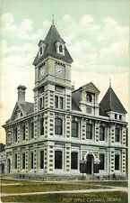 c1905 Printed Postcard; Post Office, Cornwall, Ontario Canada unposted
