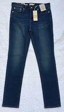 Nuevo tramo Topman Para Hombre Entallada Azul Denim Jeans Pantalón Ajustado W34 L34 Nuevo con etiquetas