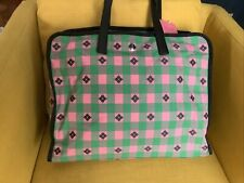 $348 Kate Spade NY XL Tote Morley Green Pink