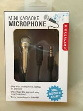 Kikkerland Mini Karaoke Microphone US133 New, great teen girl gift! SING!