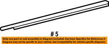 Dodge CHRYSLER OEM-Door Window Sweep-Belt Molding Weatherstrip Right 55276202AH