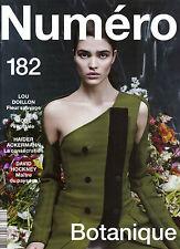 NUMERO #182 BOTANIQUE Alexandra Micu BRIT MARLING David Hockney LOU DOILLON @New