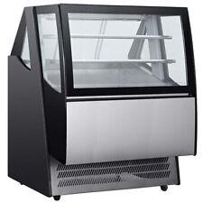 "Marchia Idb48, 48"" Modern Floor Model Refrigerated Display, Front Door Access"