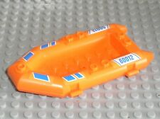 Zodiac LEGO CITY Orange boat inflatable ref 30086 / Set 60012