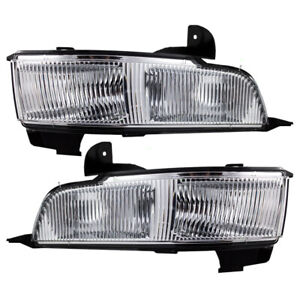 Fog Lights Set fits 2006-2011 Cadillac DTS Pair Front Driving Lamps w/ Housing