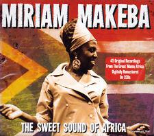 MIRIAM MAKEBA - THE SWEET SOUND OF AFRICA  (NEW 2CD)