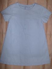 Catimini NWT Dress, light blue, 100% cotton A-Line style size 2 (86) little girl