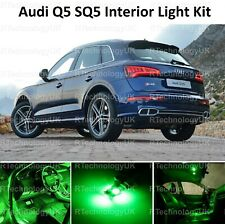 GREEN PREMIUM AUDI Q5 SQ5 FULL INTERIOR FULL UPGRADE LED LIGHT KIT