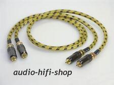 3,00m Cinchkabel Sommer Cable CLASSIQUE mit verspannbaren Steckern TOP FÜR RÖHRE