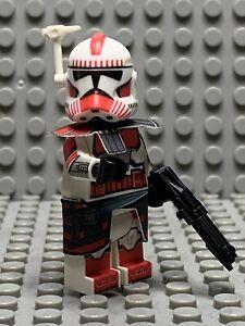 Custom Clone Trooper Minifigure For Lego Star Wars: Coruscant Guard Arc Trooper