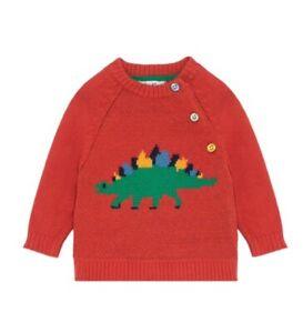 Cath Kidston Dino Stamp Kids Knitwear Age 9-12 Months
