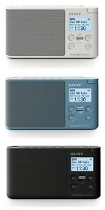 SONY XDR-S41D Portable DAB+/FM Radio With Presets,Wake Up,Sleep Timer - 3 Colour