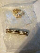 NEW PEI-Genesis M24308/4-4F Cinch Connector D sub 37 pin contacts