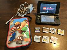 Nintendo 3DS XL, 7 games, charger, 4g SD card
