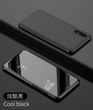 For Huawei P20/Pro, Smart Clear View Touch Mirror Flip Leather Stand Case Cover