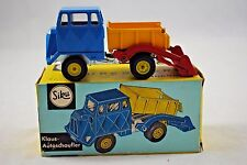 Old SIKU V260 KLAUS AUTOSCHAUFLER / Truck with Rear Loading Bucket & Tipper MIB