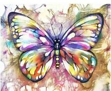 Paint by Numbers Kit - DIY Painting Kit - Gift Idea - Butterfly - 3 Sizes