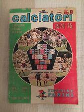 Panini Calciatori Italiano Di Calcio 1974 1975 74 75 Incomplete Sticker Album