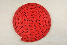 New YBN Extreme Heavy Duty Single Speed Bike Chain for BMX Track MK747 - Red