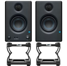Presonus Eris 4.5 Monitor-Boxen + Fluid DS5 Stative