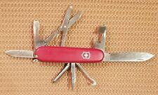 Victorinox Super Tinker 91mm 14-Function Officier Suisse Swiss Army Knife #VB36