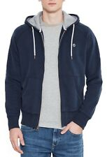 Timberland Mens Hooded Exeter Sweatshirt Sweat Top Full Zip Hoodie Sapphire Blue