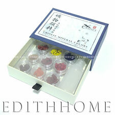 Chinese Chips Mineral Color for Painting Sumi-e Box Set - 9 colors