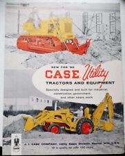 1960 Case Equipment Brochure