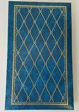 Vintage Blue Photo Album with Flip Up Pages 120 Pictures Slip-in Pockets DF1345P