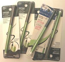 MAYBELLINE Define A Line Mechanical Pencil Eyeliner CHOOSE COLOUR eye liner