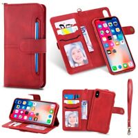 2 in 1 Wallet Case Magnetic Detachable Cover Card Slot for iPhone 11 11 Pro Max