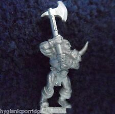 1997 caos Marauder Doble Mano Hacha 1 Games Workshop Citadel Fighter Evil Army