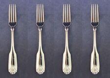SET OF FOUR - Oneida Stainless CLASSIC SHELL Dinner Forks NEW