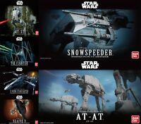 New Bandai Star Wars Model DIY Kit English Official Revell Quick Fit UK Disney
