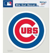 "Chicago Cubs 8""x8"" Die-Cut Auto Decal [NEW] MLB Car Sticker Emblem CDG"