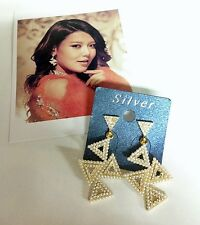 K-POP Girls Generation SOOYOUNG The boy earring Gold Color New