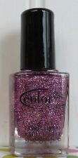 COLOR CLUB NAIL POLISH - CANDY CANE - SULTRY GLITTERING HOLIDAY COLOR