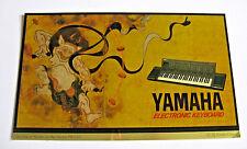 Yamaha Achtzigerjahre Sammlerstück Abziehbild Aufkleber PSR-6300, Raijin japanische Donnergott