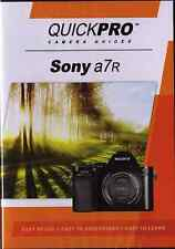QUICKPro Training DVD Sony a7r  >NEW< Free US Shipping