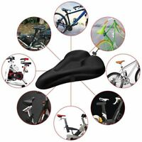 Bike Bicycle Cycle Extra Comfort Gel Pad Cushion Cover for Saddle Seat Comfy KF