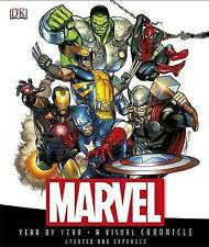 Marvel Book - Year by Year a Visual Chronicle -Updated And Expanded