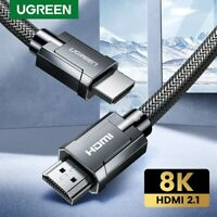 Ugreen HDMI Cable V2.1 8K@60Hz 3D Dynamic HDR 48Gbps HDCP 2.2 HDMI Cord for PS4