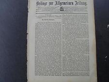 1899 Allgemeine Zeitung `22  / Vlamen /Persien Dichter At ima (2)