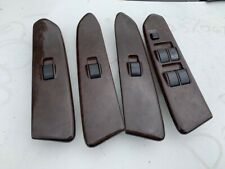 MITSUBISHI MAGNA VERADA WOODGRAIN WINDOW SWITCH SET X4 COMPLETE CHEAP
